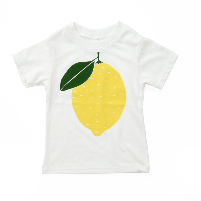 Lemon | Eco Baby Tee | Screen Printed T-Shirt | Babies | Toddlers | Kids | Shirt | Recycled | Organic | Fair Trade | Baby Tee | Hipster