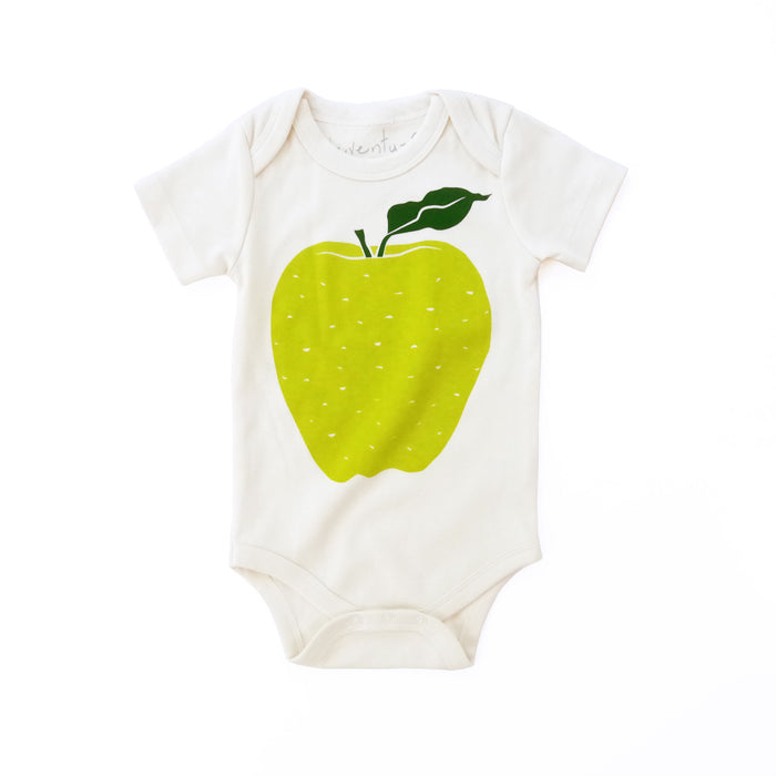 Green Apple Organic Baby Bodysuit