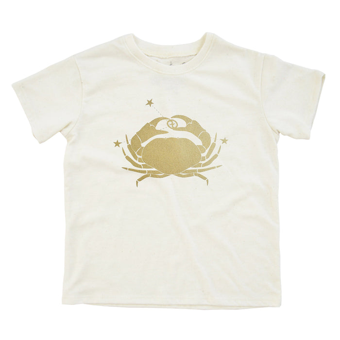 Cancer Shirt | Eco Baby Kids Tee | Astrology | Gender Neutral | June 21 - July 22 | Horoscope Zodiac Gift