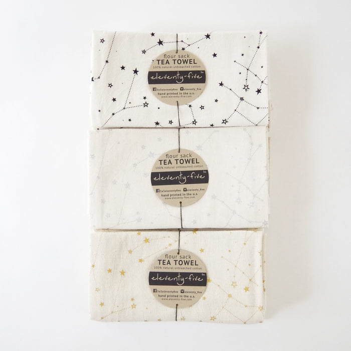 Zodiac Organic Cotton Tea Towels Gift Set