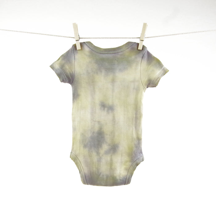 Rainbow Color Splash 3-6m | Organic Baby Clothes | Dip Dyed | Bodysuit | Gender Neutral Baby Gift | Romper | Tee | Hipster | Unisex