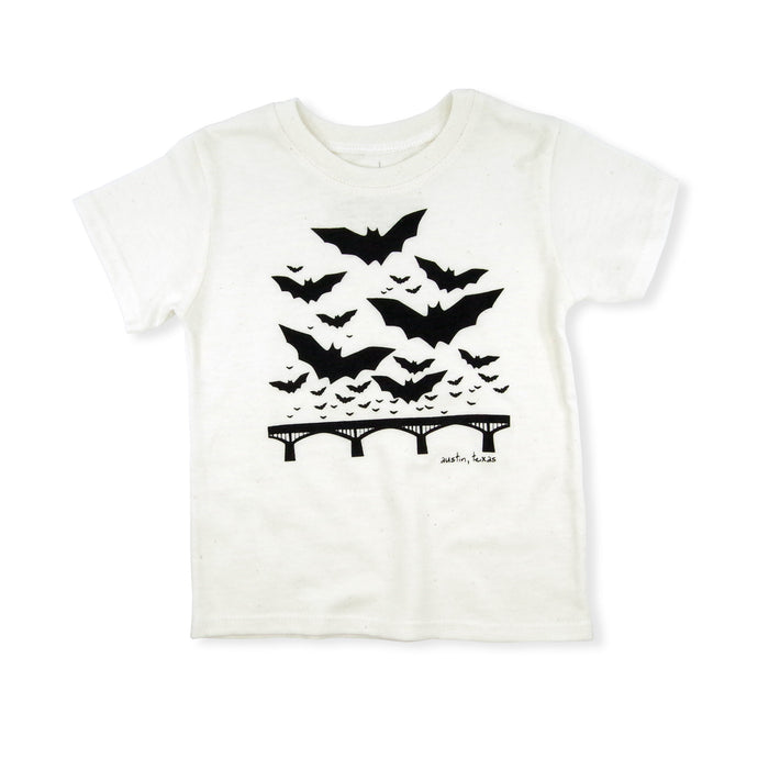 Austin Texas Bats Eco Blend Baby + Kids Tee