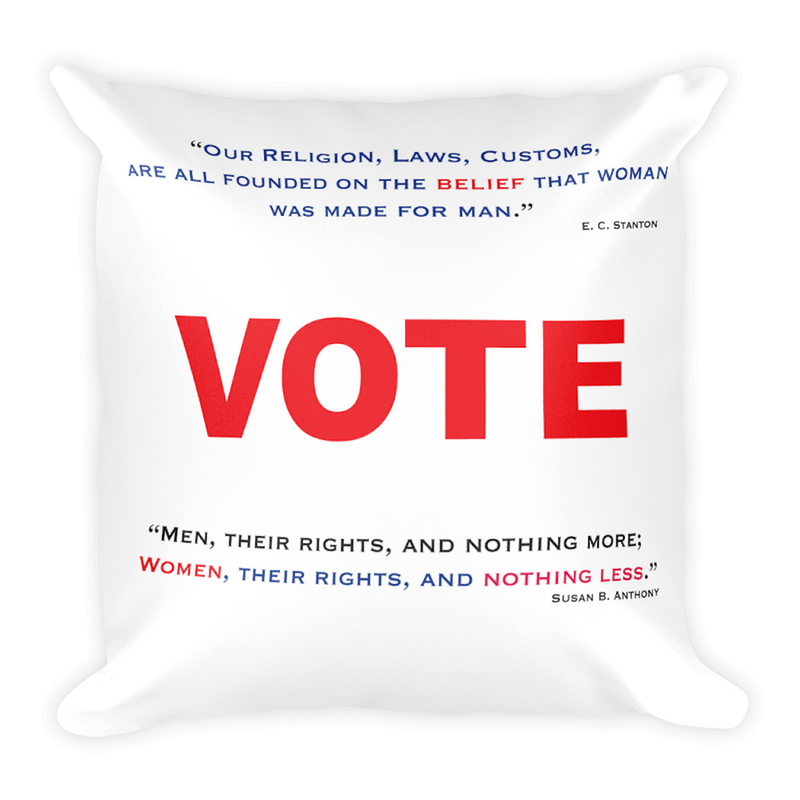 Women's Vote Pillow