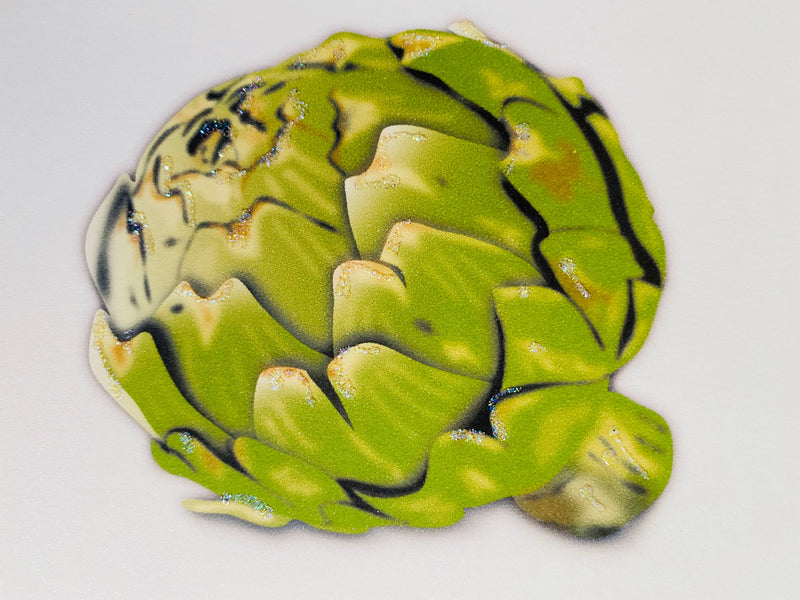 Artichoke - Boxed Note Cards, Handmade Note Cards