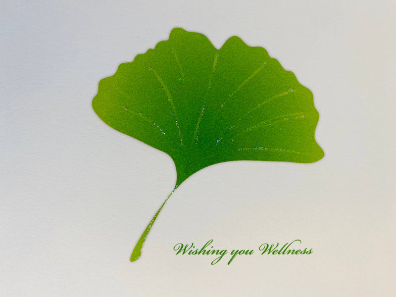 Ginko Get Well Card