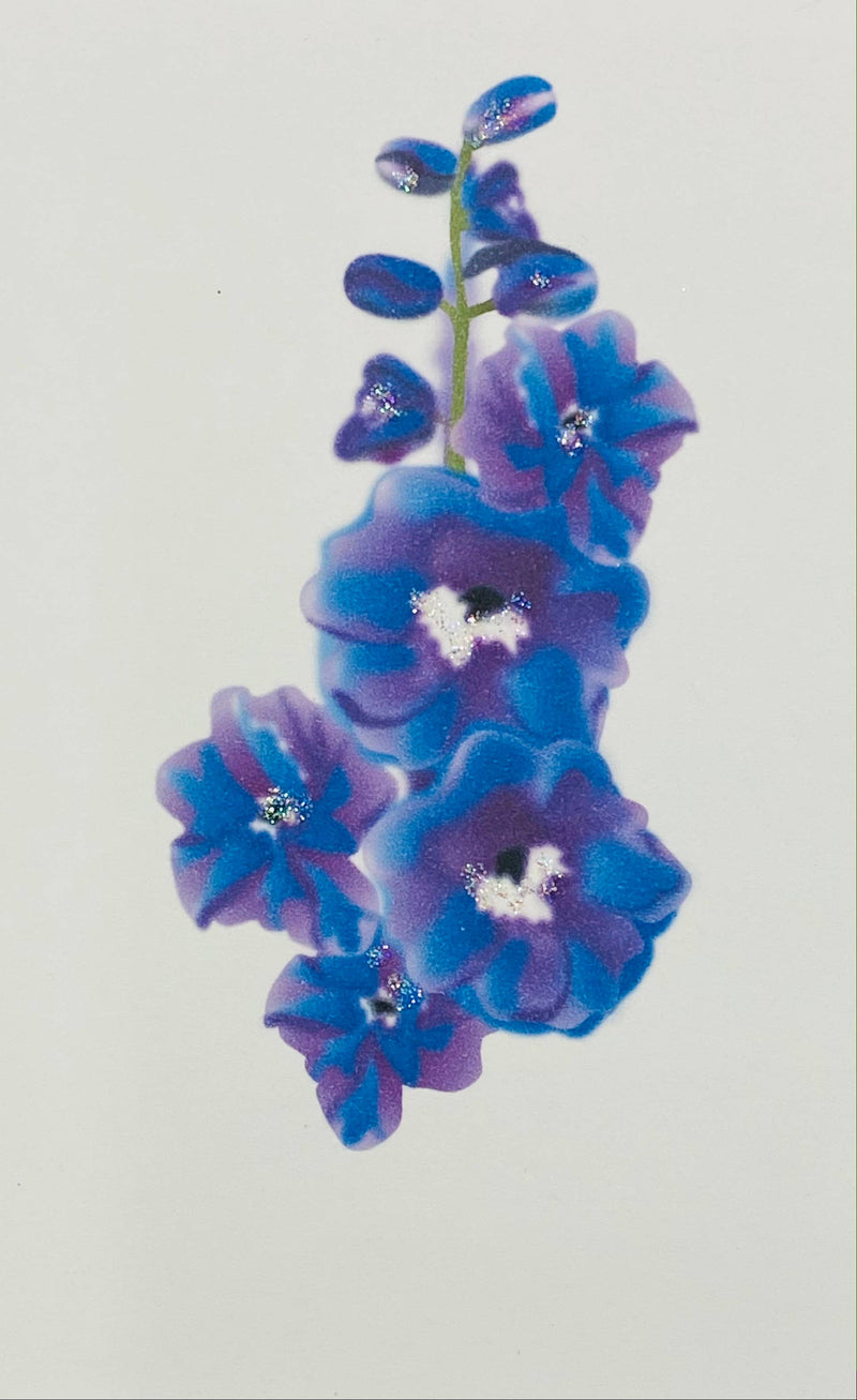 Delphinium - Gift Enclosure Cards