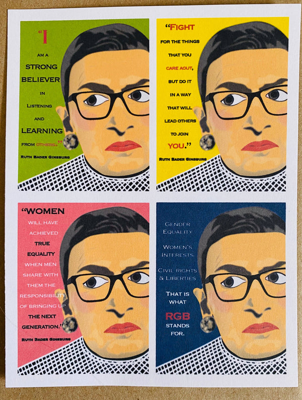 Mixed Box of Ruth Bader Ginsburg Quotes