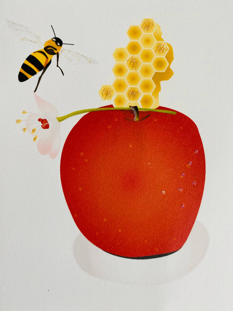 Apple and Bee