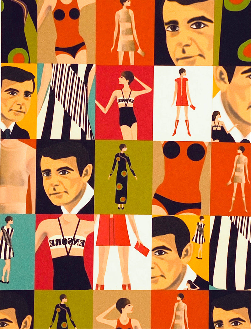 Rudi Gernreich Collage Loose Note Cards