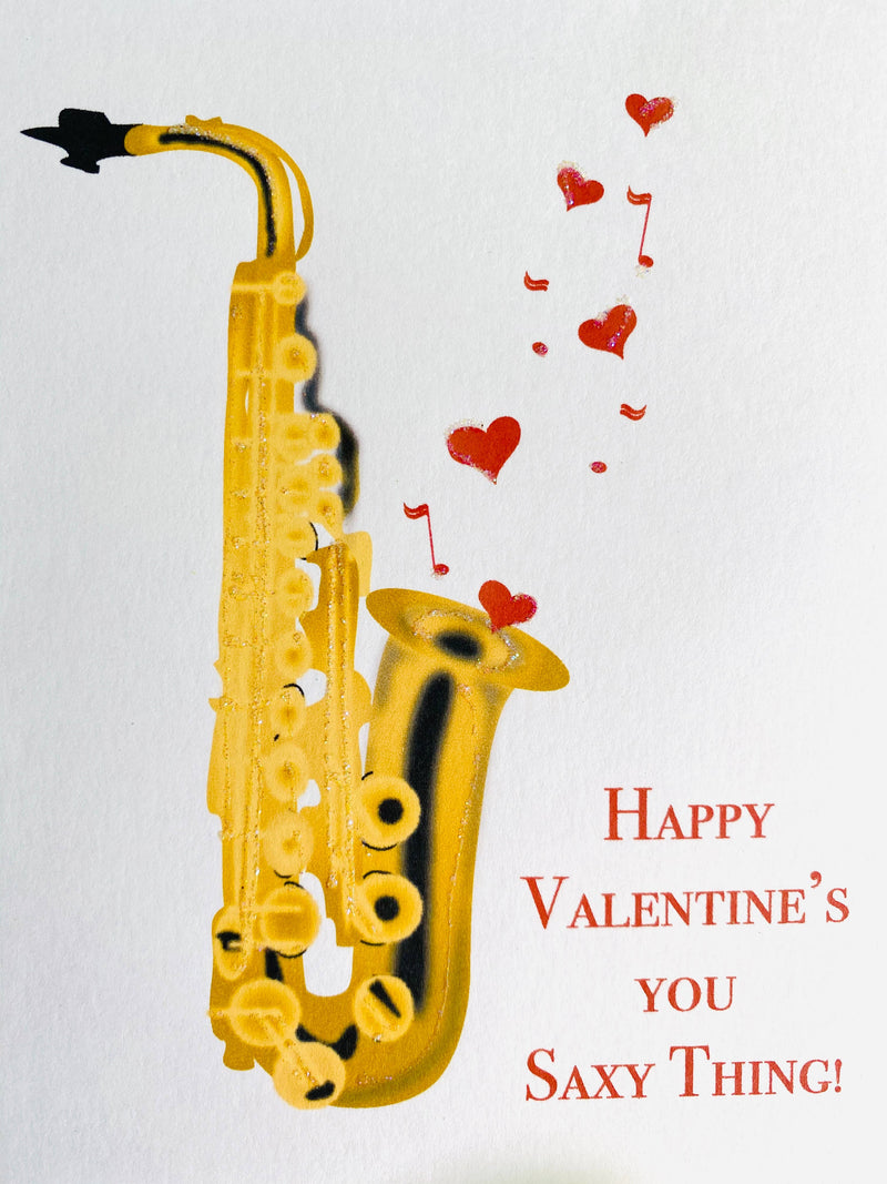 Saxophone notecards