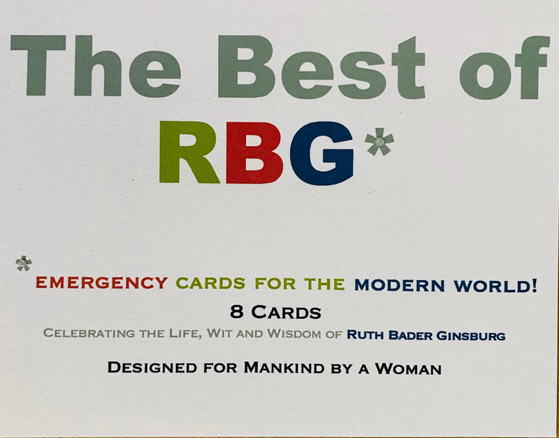 Best of RGB Quotes Mixed Notes - Boxed Note Cards, Handmade Note Cards