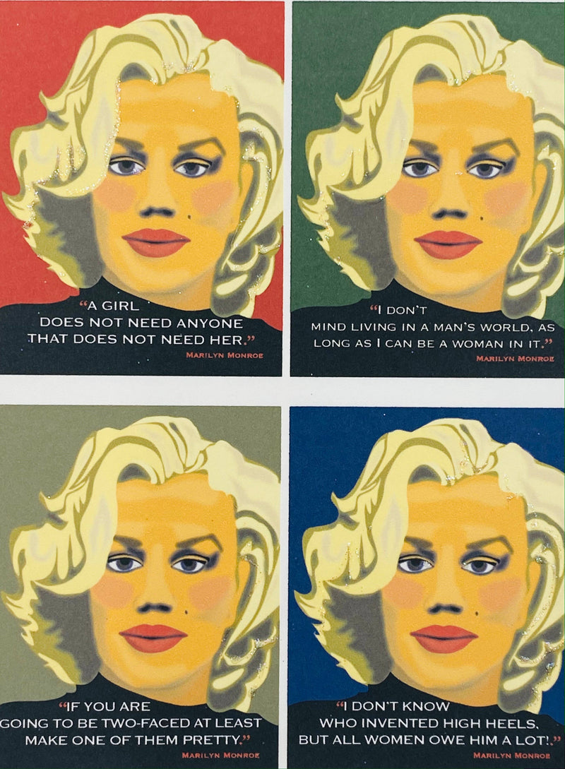Marilyn Monroe - Boxed Note Cards 4 Mixed