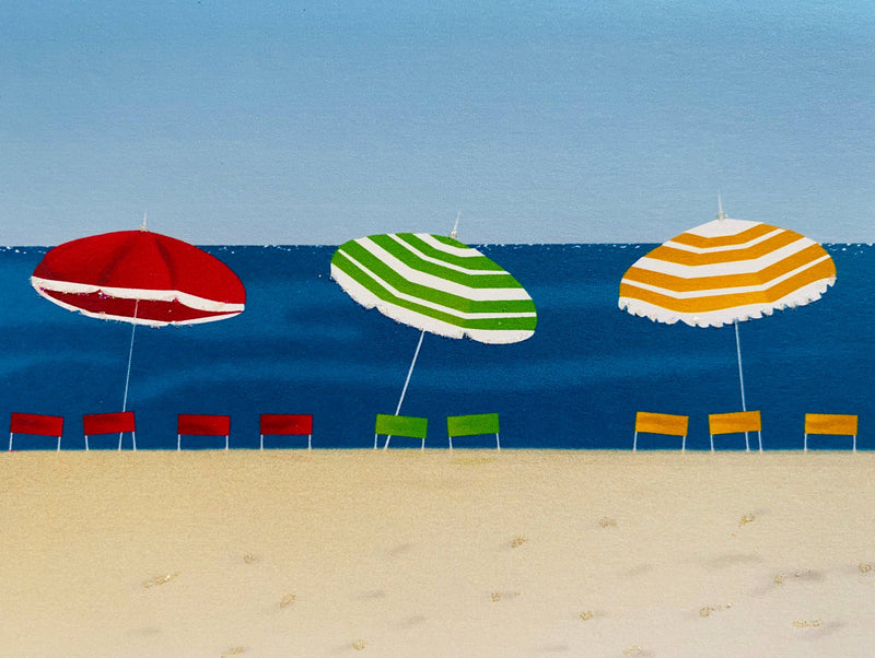 Umbrellas on the Beach