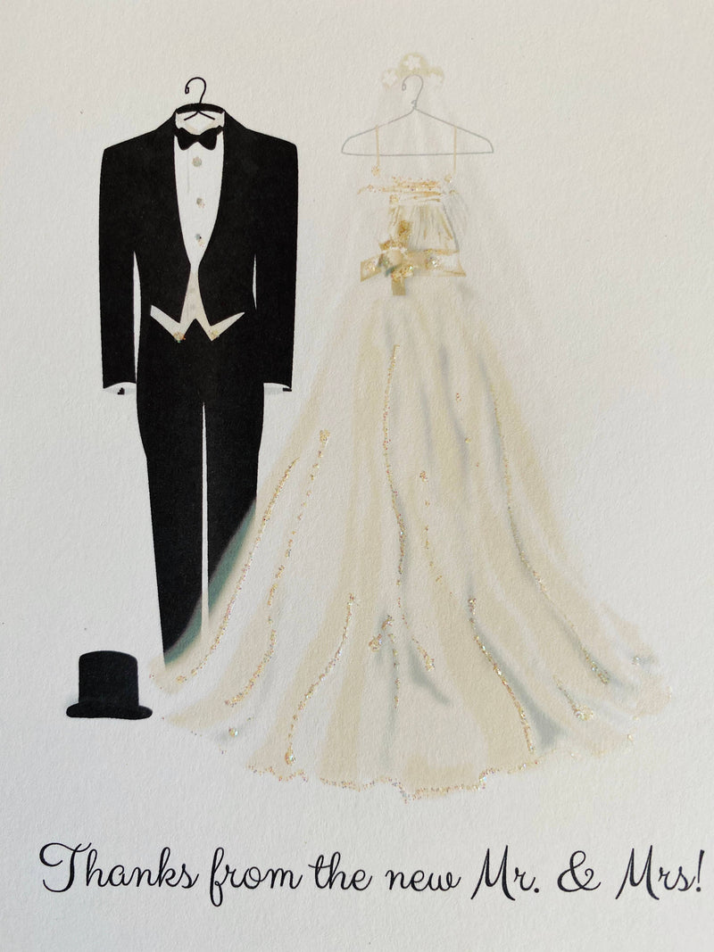 Wedding Costume - Boxed Note Cards, Handmade Note Cards