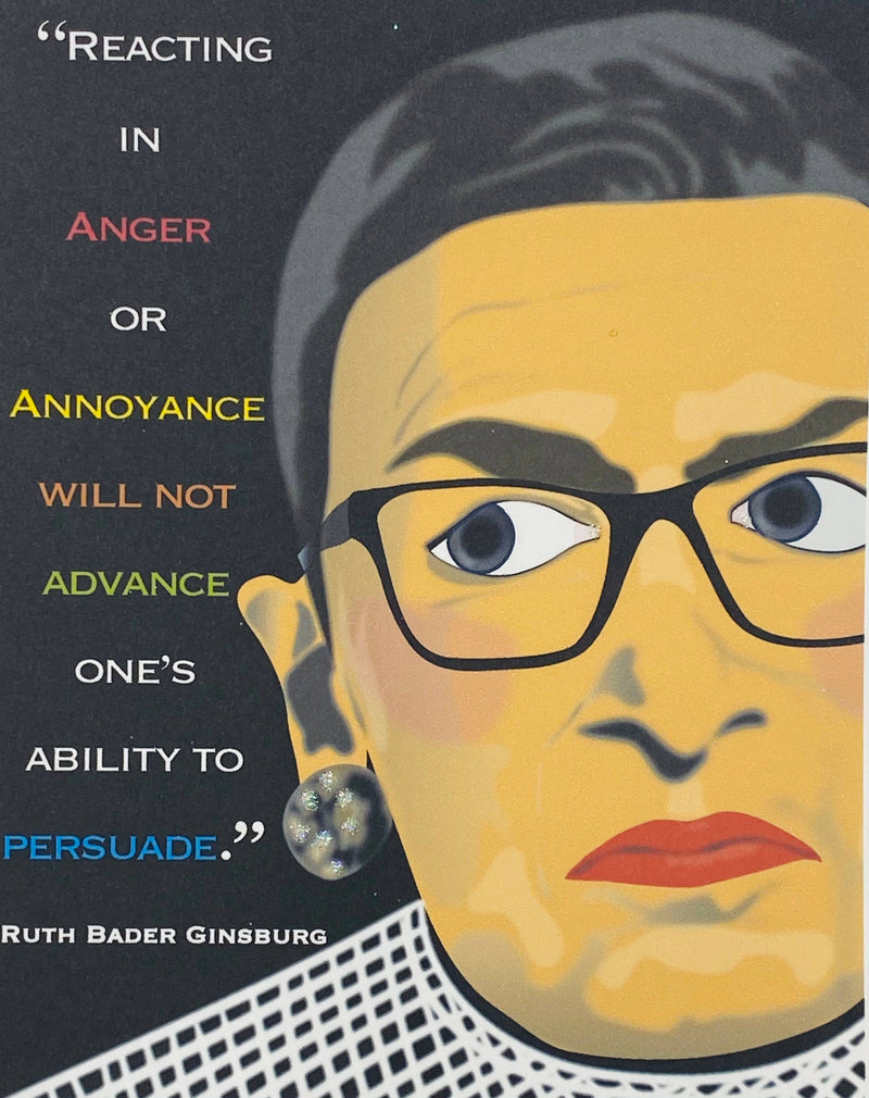 RBG Ruth Bader Ginsburg - Loose Note Cards