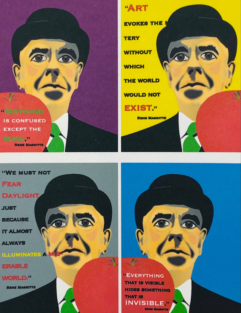 Rene Magritte - Boxed Note Cards 4 Mix