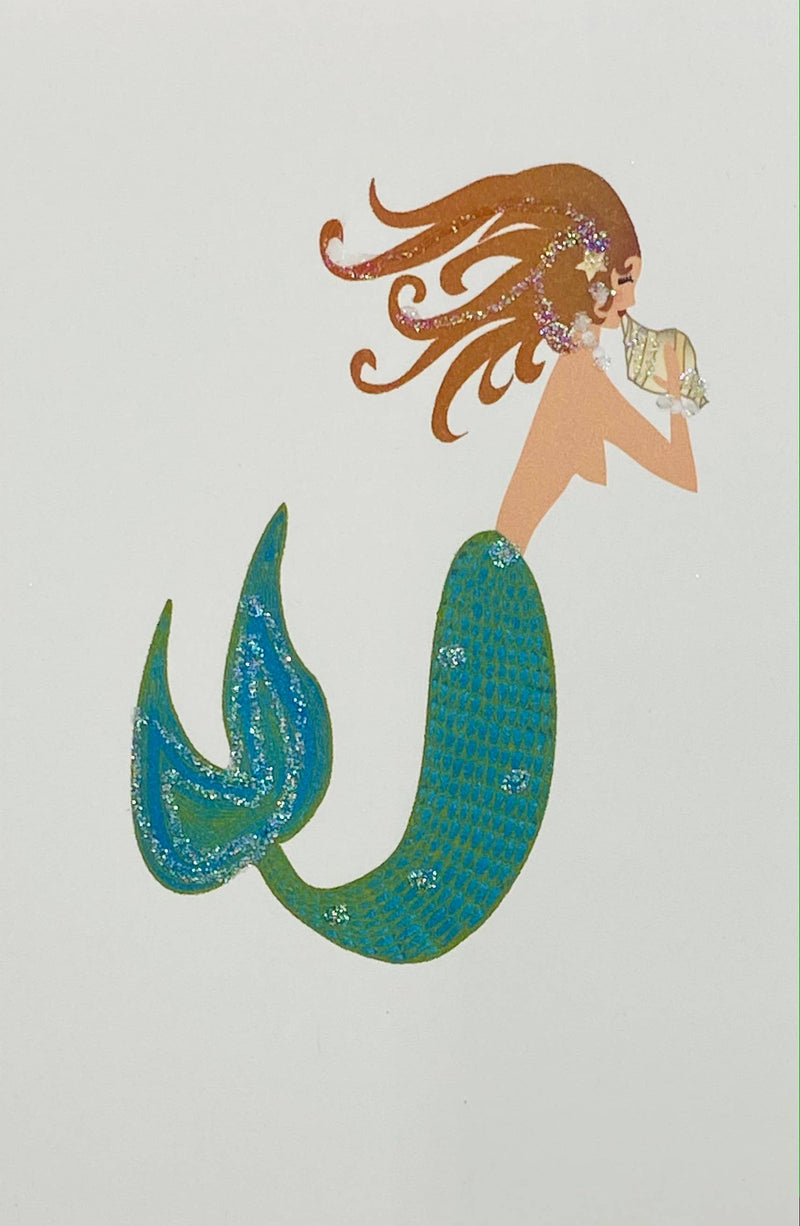 Mermaid - Gift Enclosure Cards