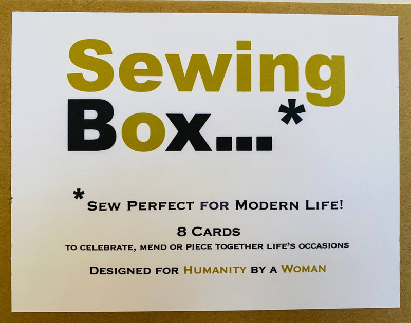 Sewing Box Mixed Notes