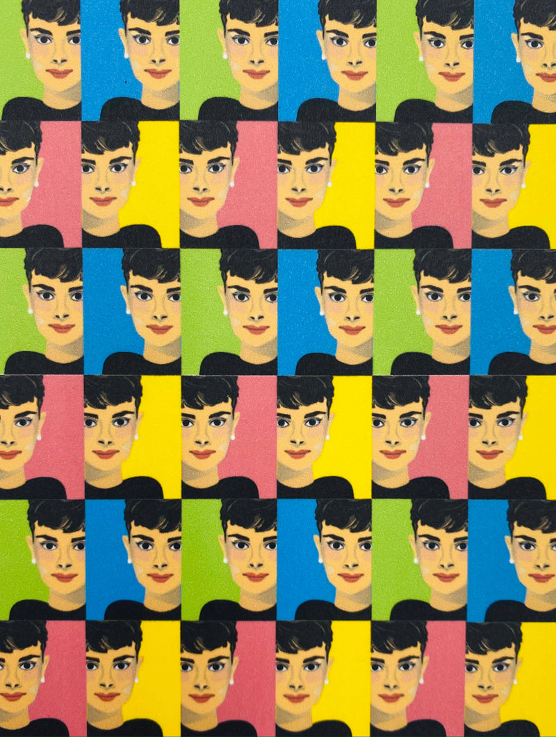 Audrey Hepburn Collage - Boxed Note Cards