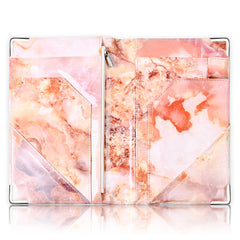 Luxe Server Book - Pink Marble