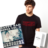 Happy Sad Songs Bundle! T-Shirt! Album! Song Charts!