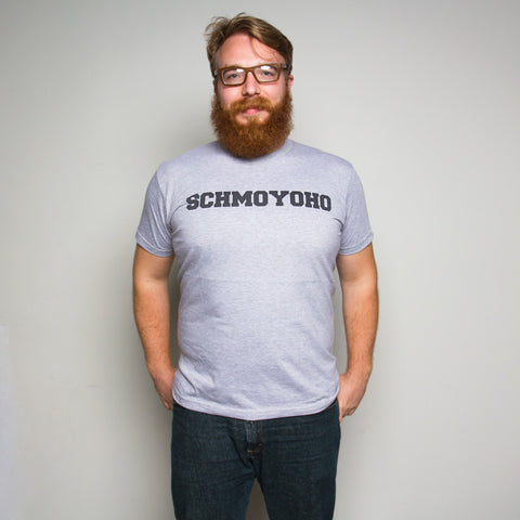 Schmoyoho Tee - Heather Grey