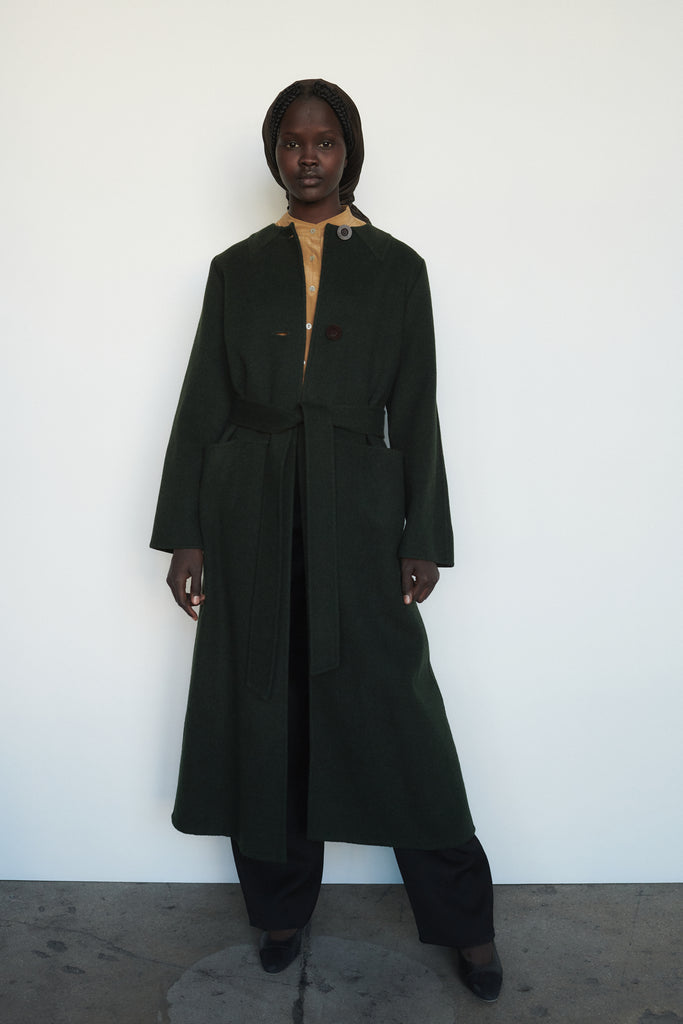 Forest Green Geoffrey Beene Coat