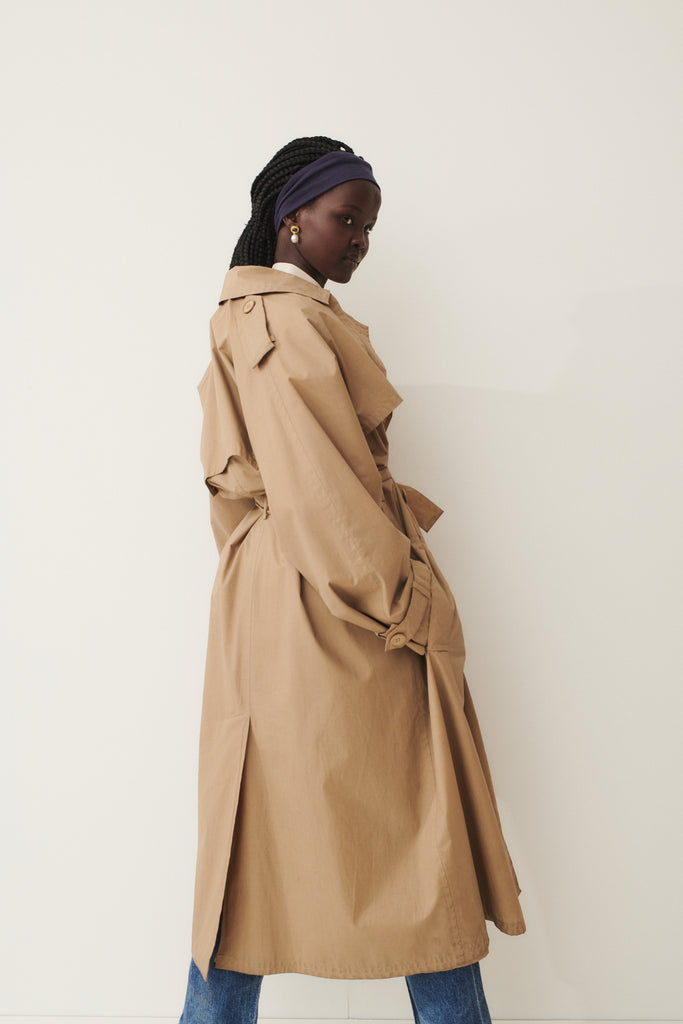 1970's YSL Cotton Trench