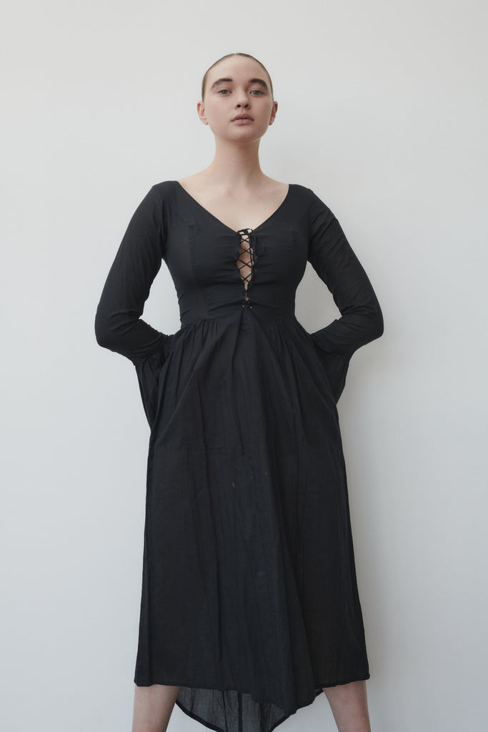 Vintage agnes b cotton dress