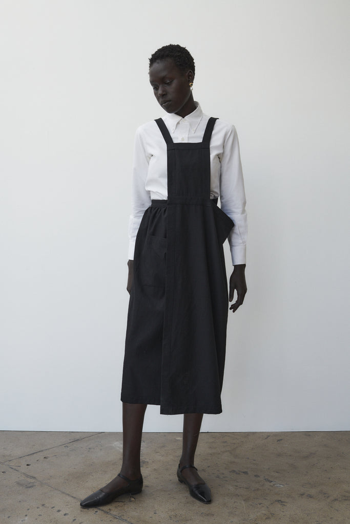 Comme des Garcons Wool Pinafore