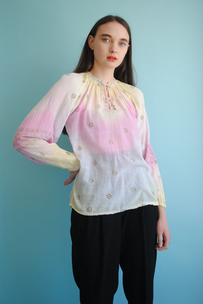 India Gauze Blouse