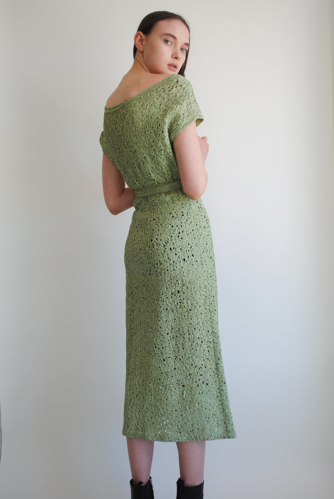 Vintage Ribbon Work Dress
