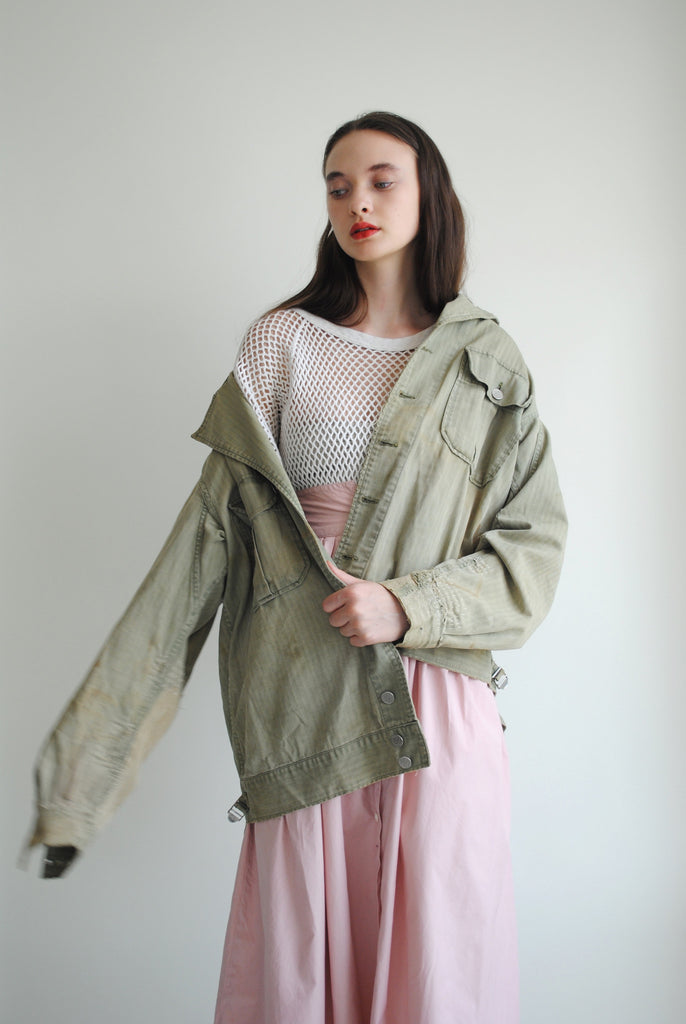 1950's Patched Military Jacket