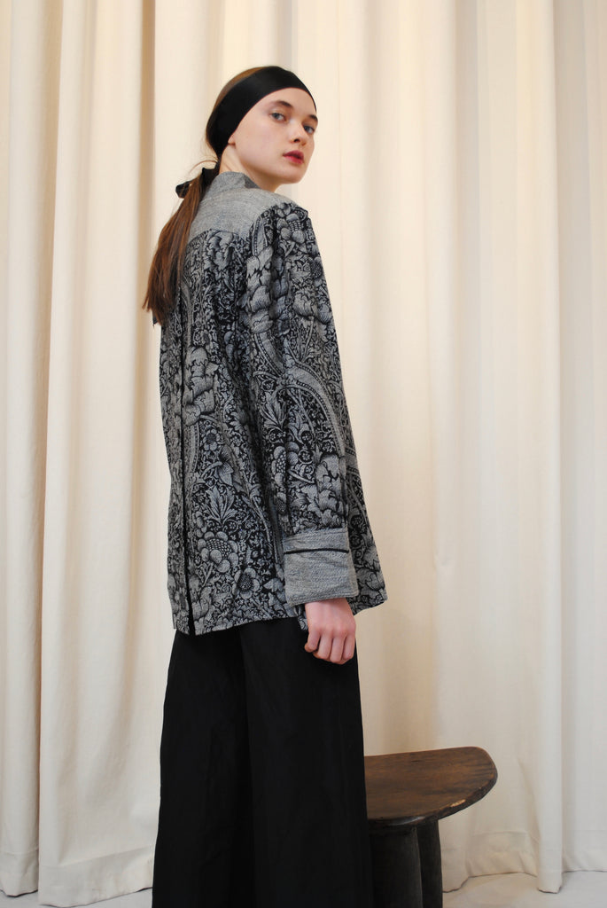 Printed Winter Blouse