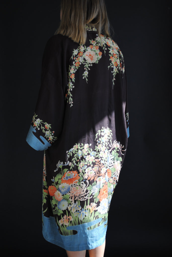 1930s Printed Duster