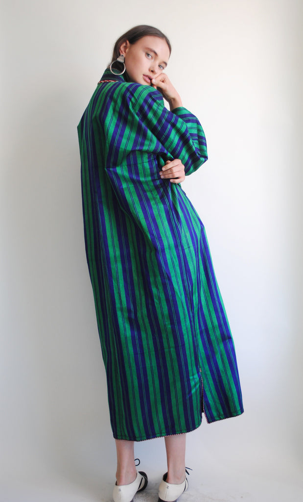Vintage striped coat