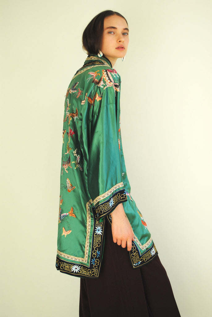 1930's Embroidered Butterfly Jacket