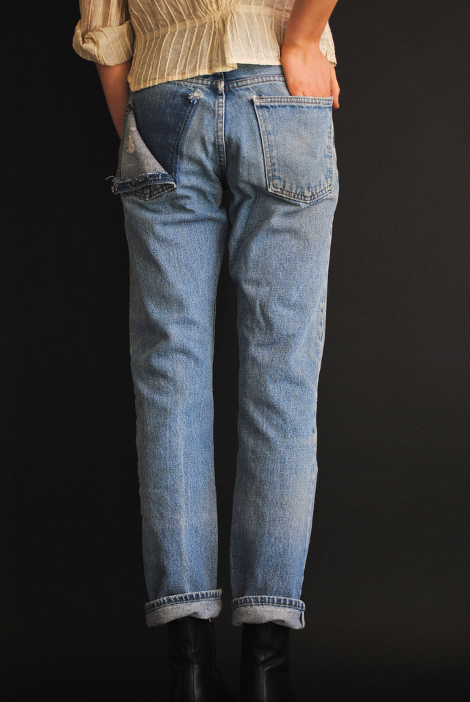 1960's Patchwork Denim