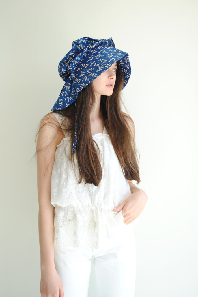 Calico Sun Bonnet