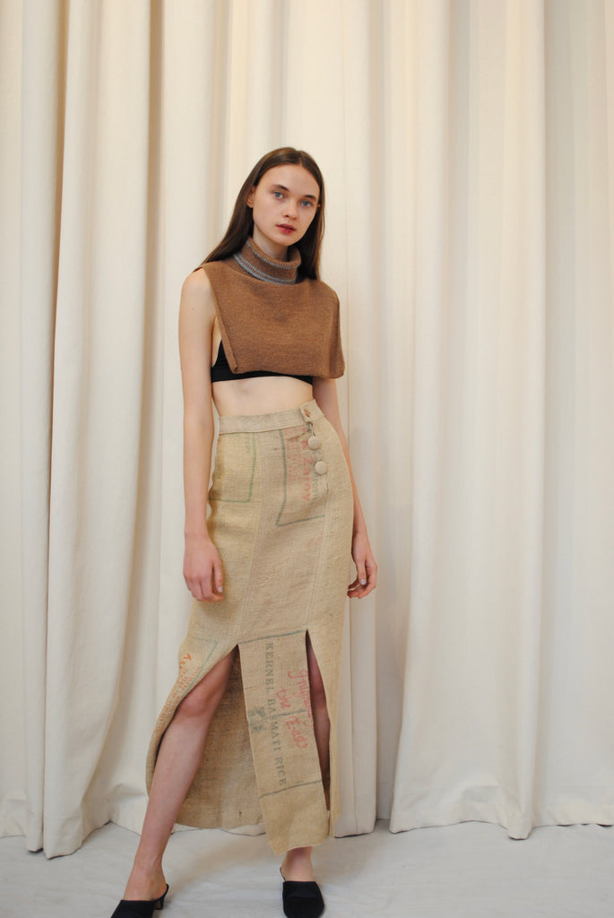 Vintage Feed Sack Skirt