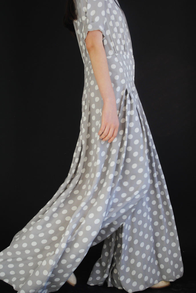 1940's Dotted Jumpsuit