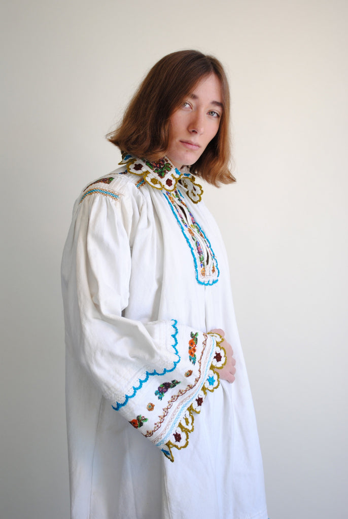 Beaded Folk Dress
