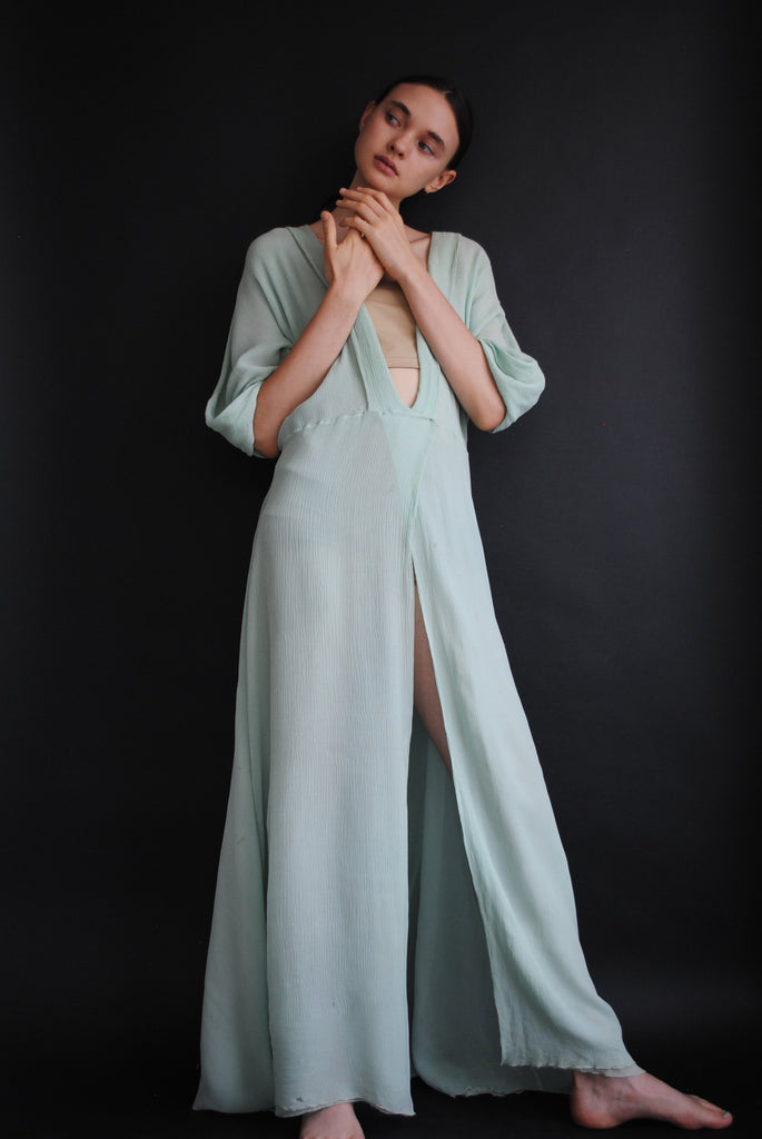 1930s Crepe Silk Gown