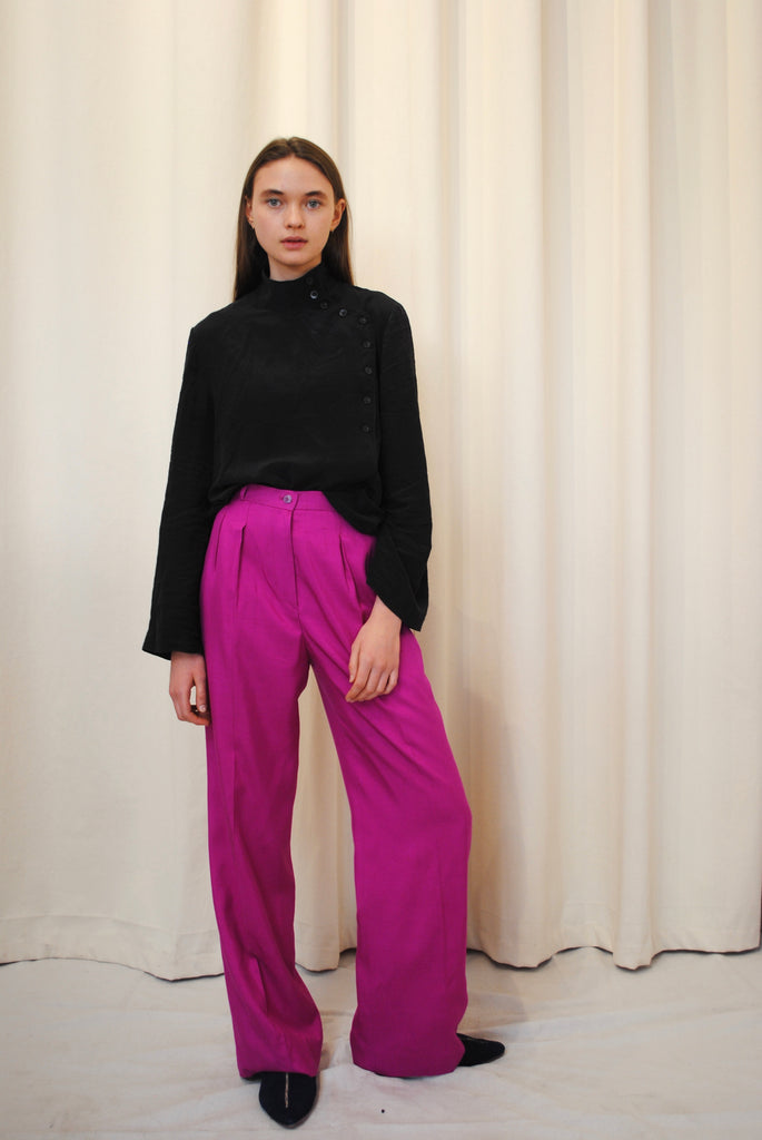 YSL Silk Trousers