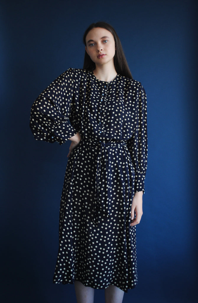 1940's Polka Dot Dress
