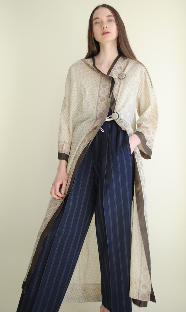 Antique Printed Duster