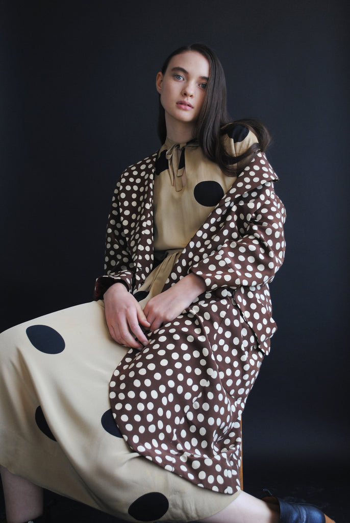 Dotted Overcoat