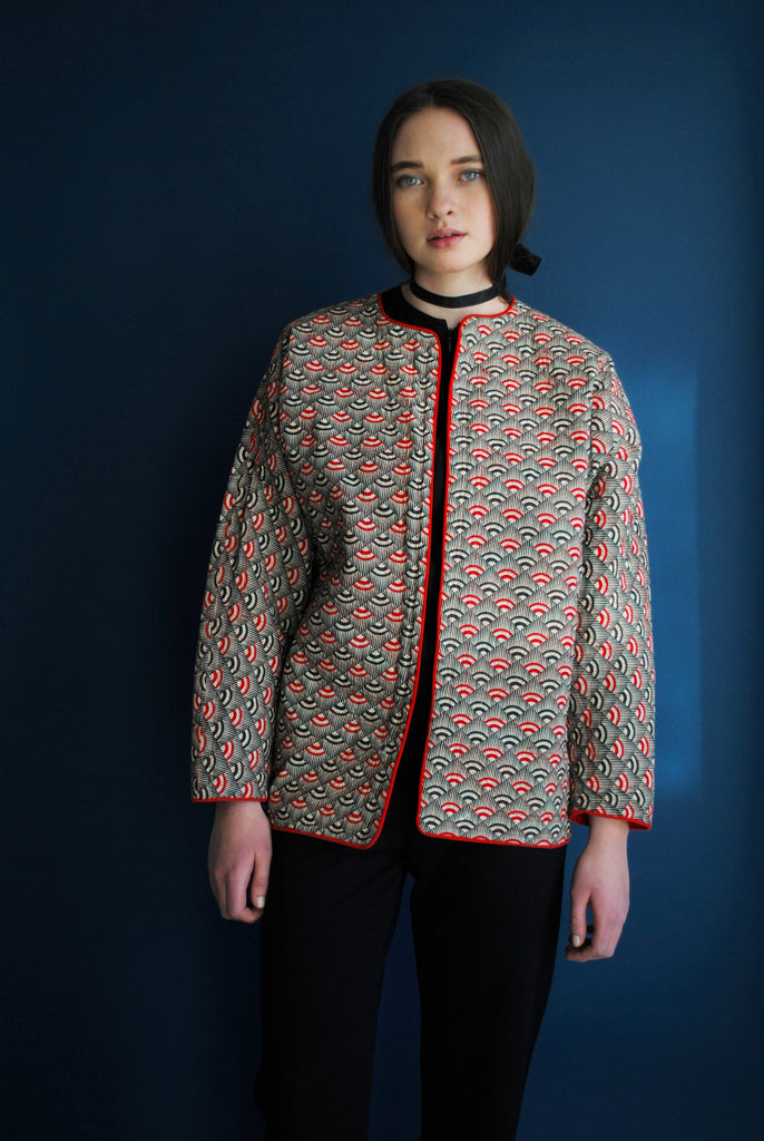 Quilted Patterned Jacket