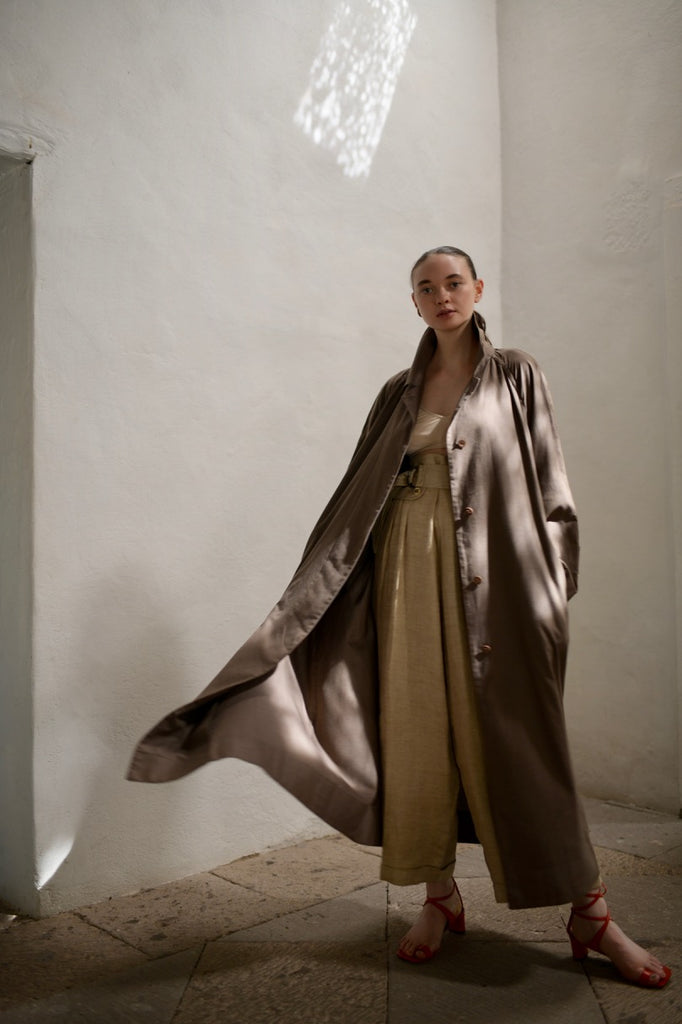 Vintage Geoffrey Beene Cotton Trench