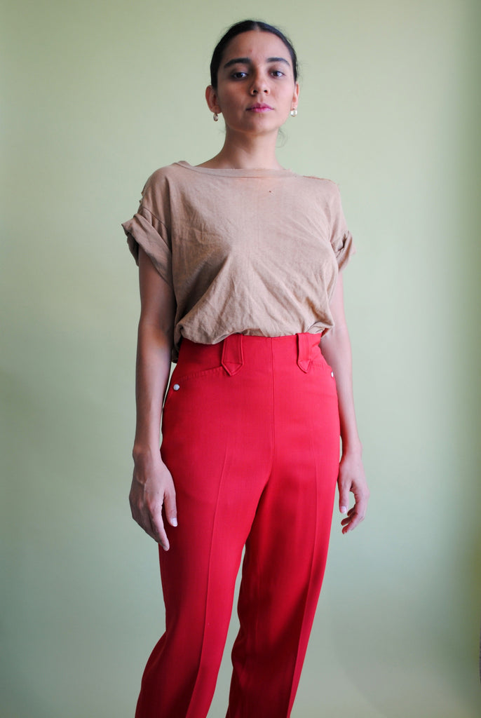 Levi's Poppy Red Trousers